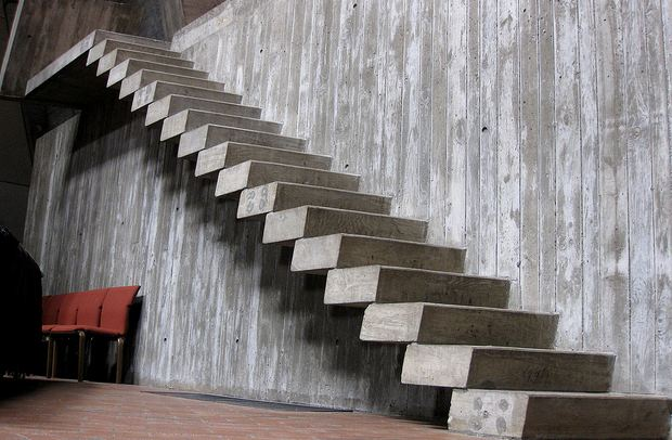 Escalier beton | Maison béton